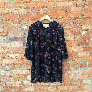 Urban Outfitters Boho Floral Mini Dress